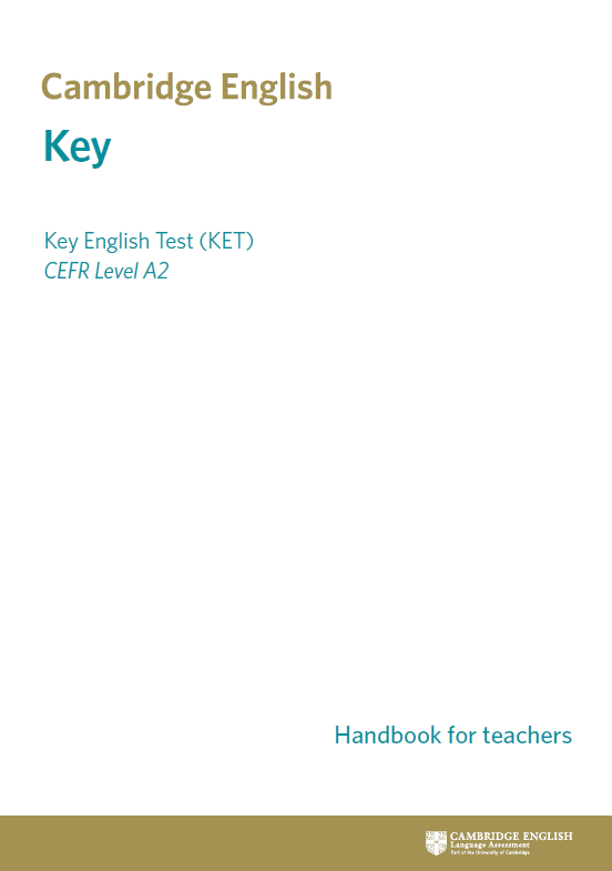 Official A2 Key (KET) Cambridge English Certificate | by