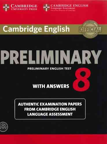 Cambridge Preliminary English Test Extra Students Book With Answers