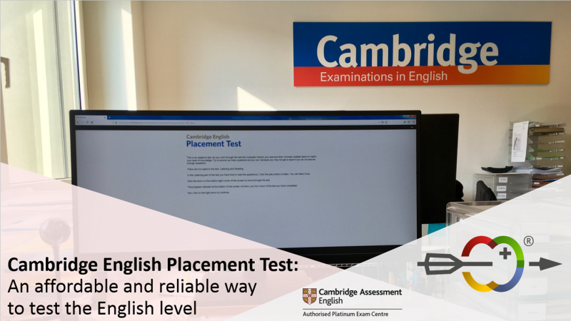 Cambridge English Placement Test – an affordable and