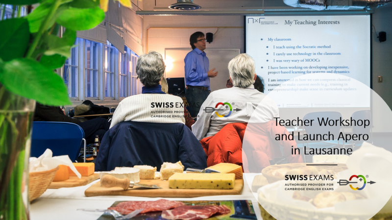 Swiss Exams Workshop in Lausanne