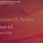 Cambridge English Research Notes